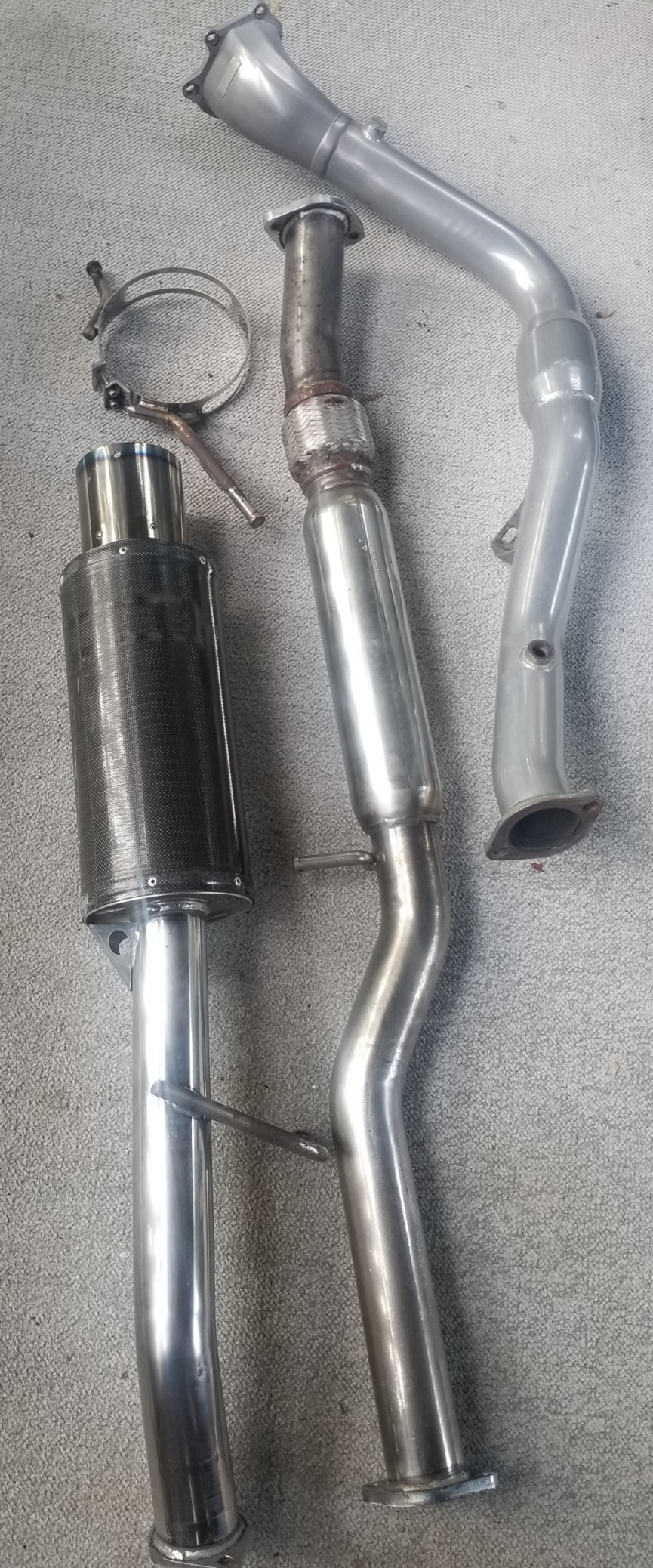 "FS: HKS 3"" exhaust with Invidia Downpipe (Waterbury, CT)-20190715_112358_1563204362258-jpg"