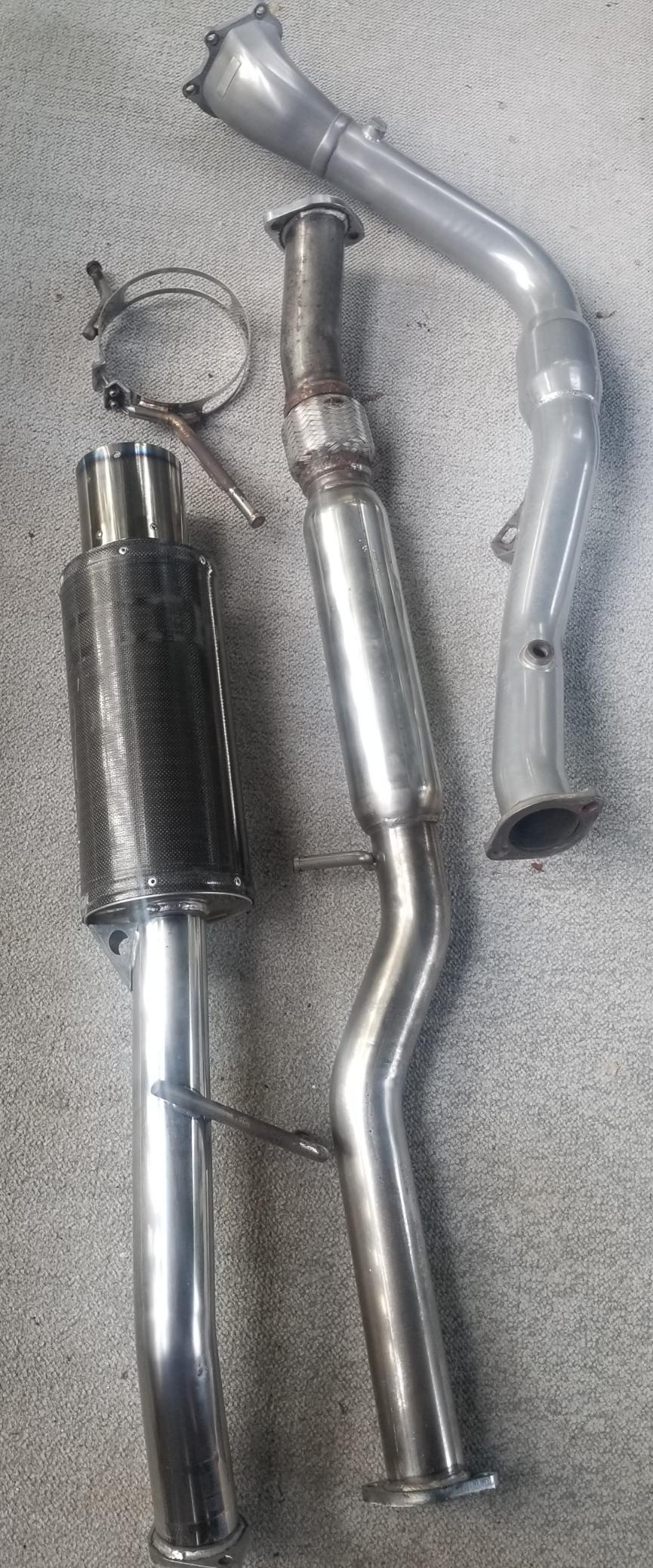 "FS: HKS 3"" exhaust with Invidia Downpipe (Waterbury, CT)-20190715_112358_1563204362258-jpg"