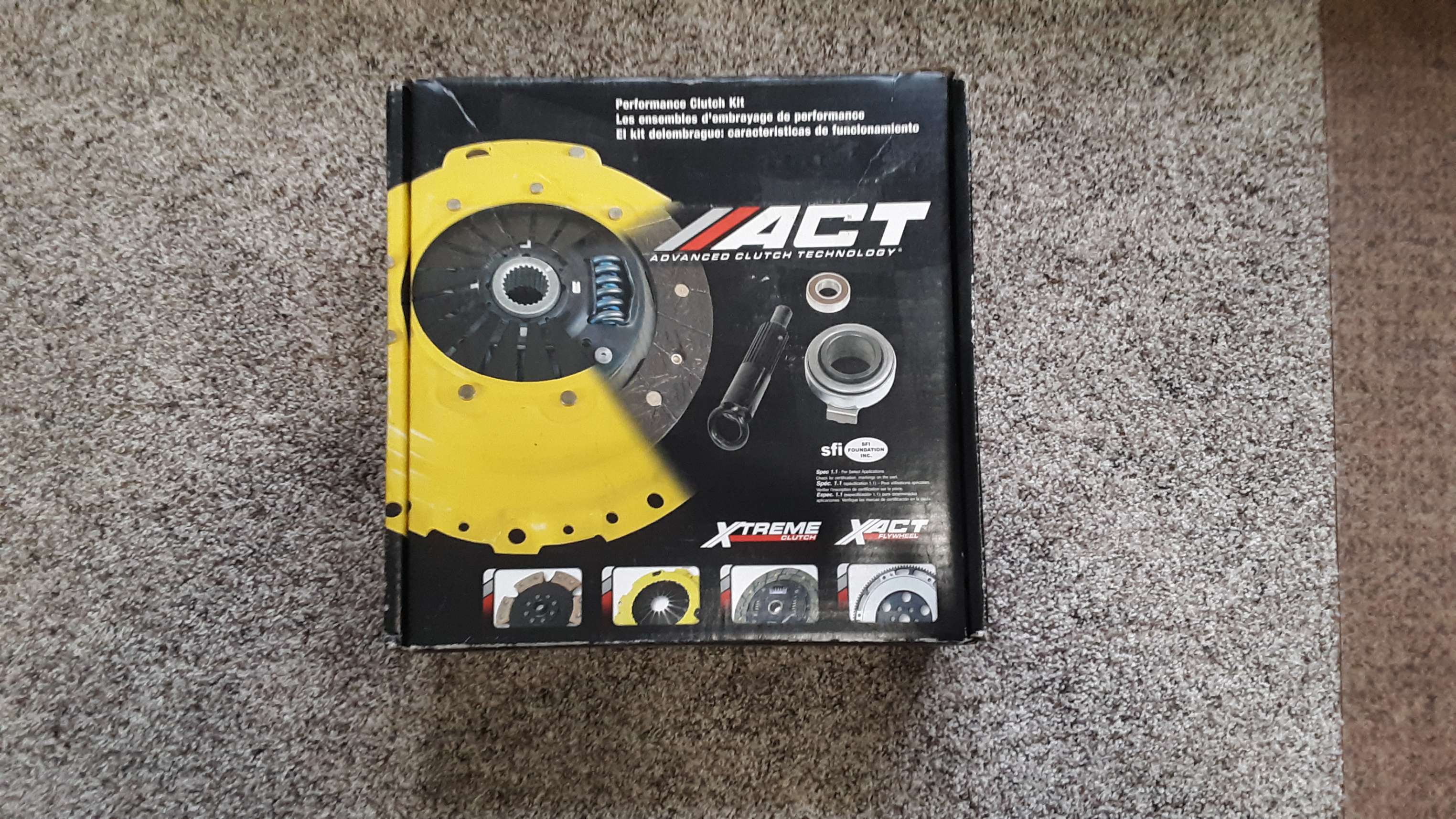 BNIB ACT Heavy-Duty Clutch Kit (SB4-HDSS) 04-07 STi-20191005_130240-jpg