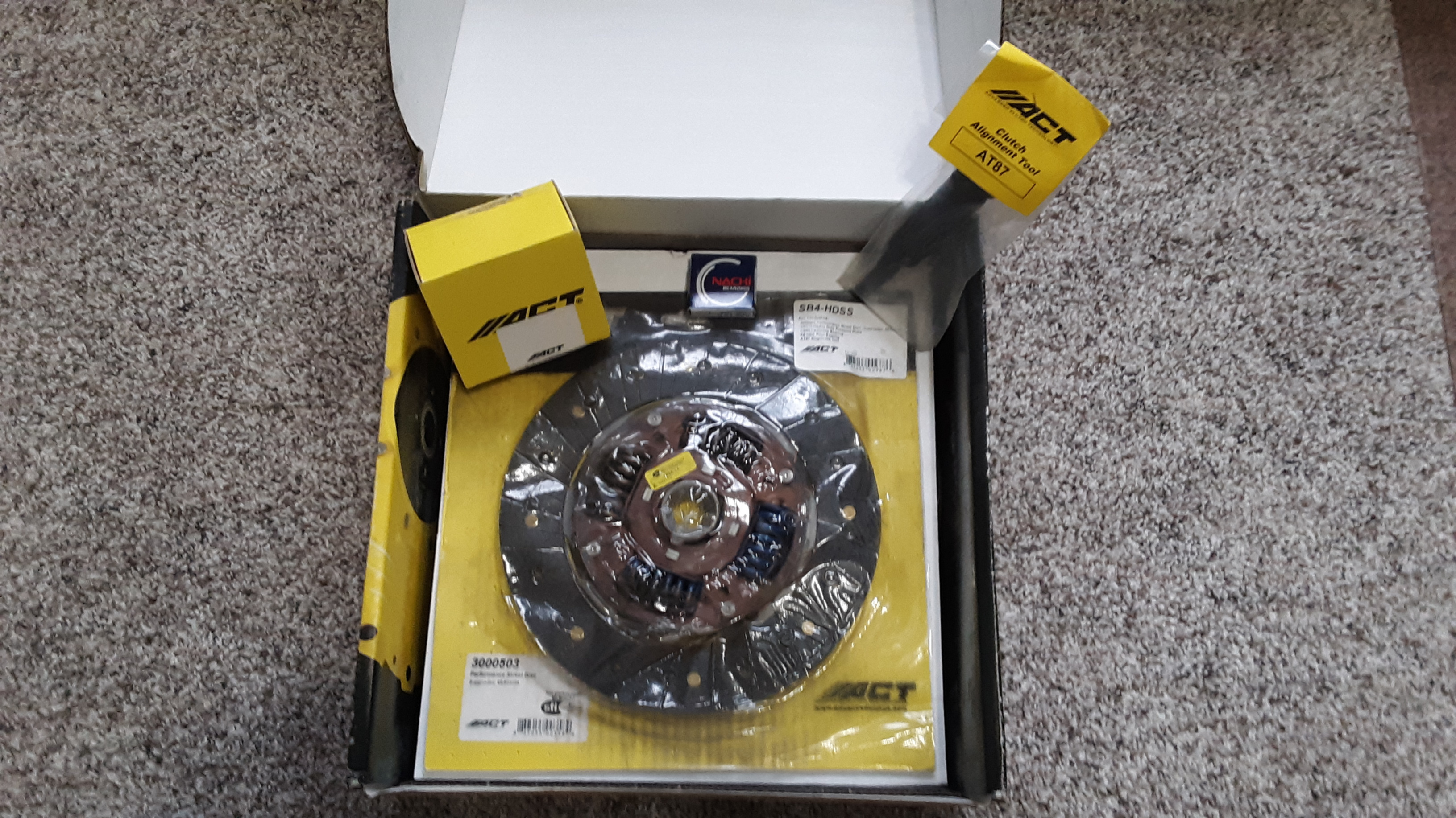BNIB ACT Heavy-Duty Clutch Kit (SB4-HDSS) 04-07 STi-20191005_130333-jpg