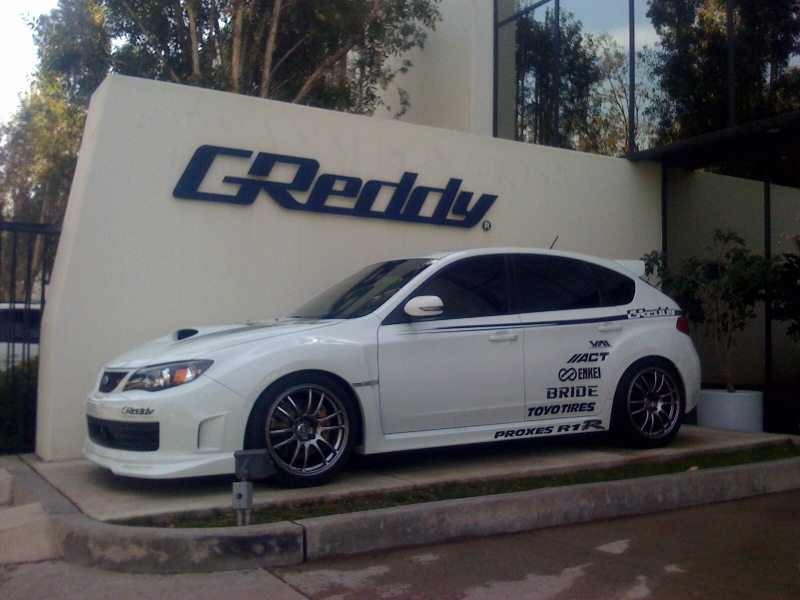My 2008 STi - Completely Built by GReddy Performance Products-shop-jpg
