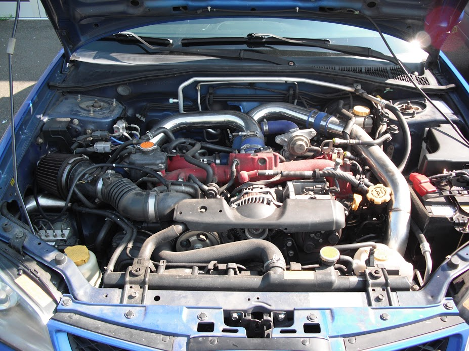 BlueScooby's 06 STI - 03/16/19 Track Day Synopsis-engine-bay-jpg