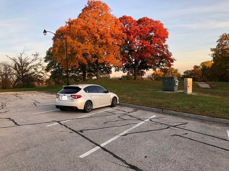 2012 Subaru STi, 41,xxx miles, Garage Baby, One Owner, Asking .9k-fall-2018-rear-jpg