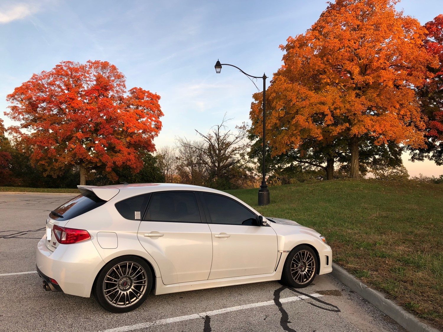 2012 Subaru STi, 41,xxx miles, Garage Baby, One Owner, Asking .9k-fall-2018-side-jpg
