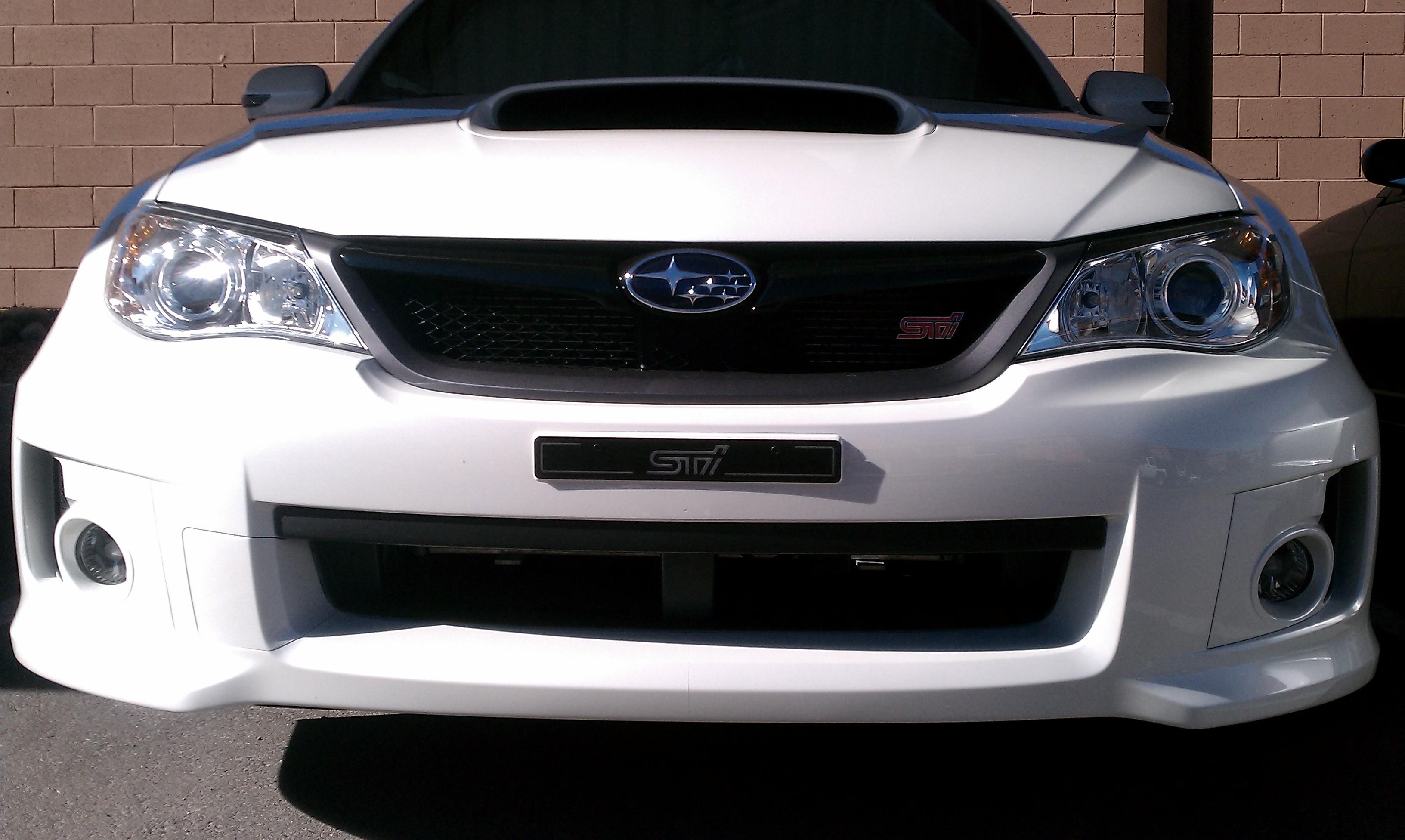 2012 Subaru STi, 41,xxx miles, Garage Baby, One Owner, Asking .9k-front-jpg