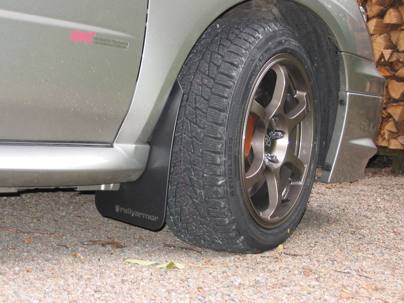 wdb's journal: Back from the dead!-front_tire-mudflap-jpg