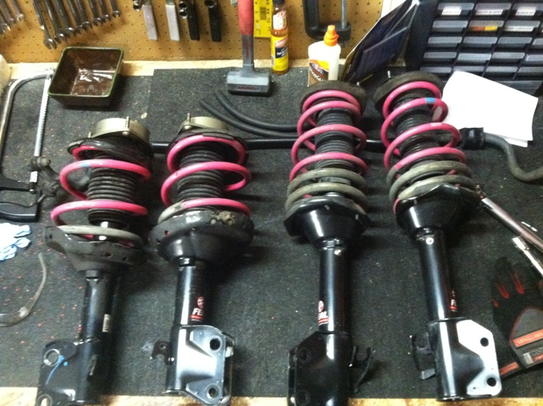 BlueScooby's 06 STI - WedsSport Wheels are HERE!-new-suspension-jpg