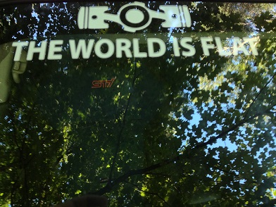 Jim's Journal - They were wrong; The world is flat-photo-1-jpg