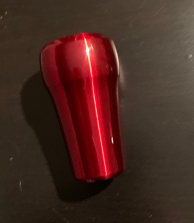 Raceseng Rondure Translucent Shift Knob - 2015+ WRX / 2015+ STI - Red Engraved-shift1-png
