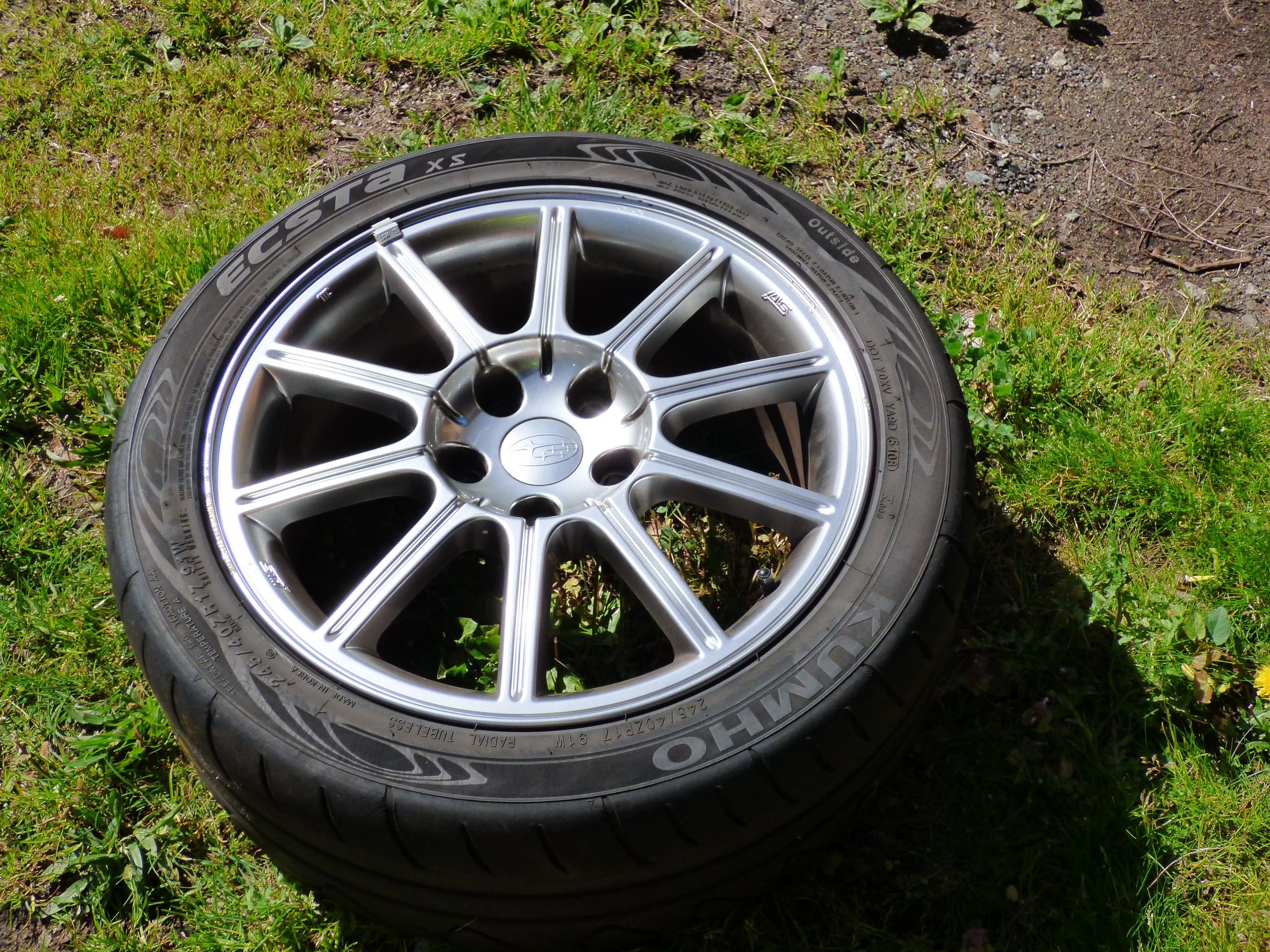 2007 STI Wheels and STU tires for sale-sti-wheel-kumho-xs-tire-jpg