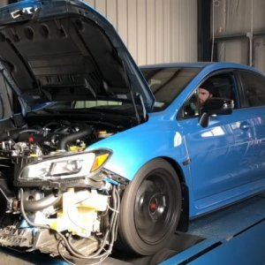 sti on dyno setting rings on new close deck build